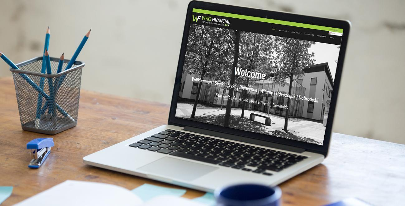 Corby Website Design Featured