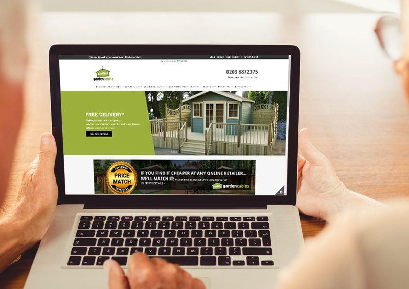 Best Buy Garden Cabins - E-commerce WordPress