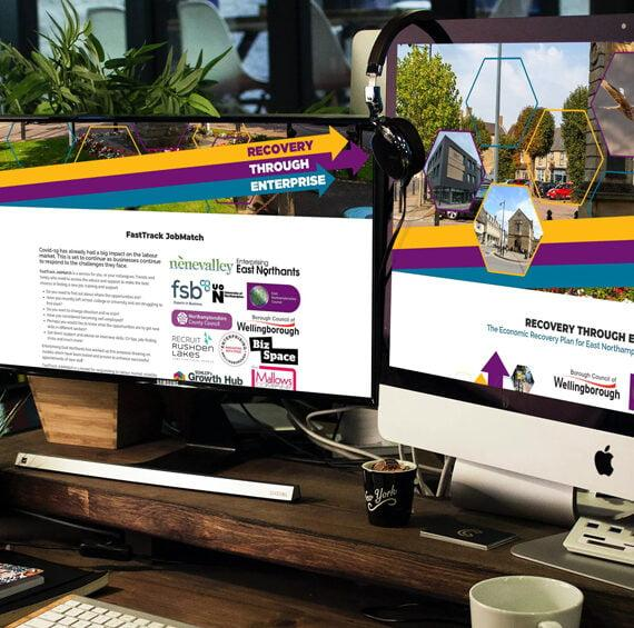 East Northants Website Design
